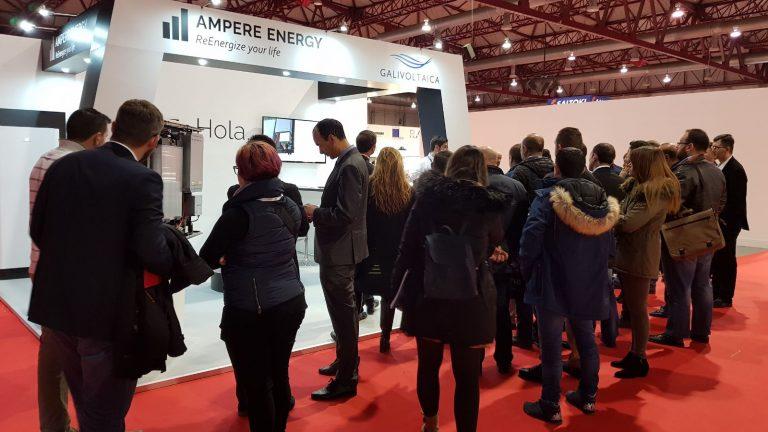 Éxito de Ampere Energy y de la II Feria de la Energía de Galicia