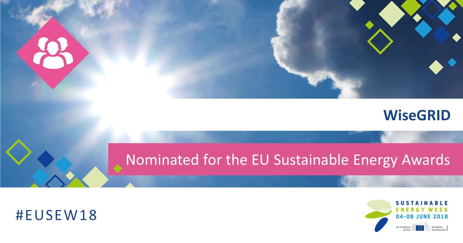 El proyecto WiseGRID, candidato a los Premios de Energía Sostenible de la UE