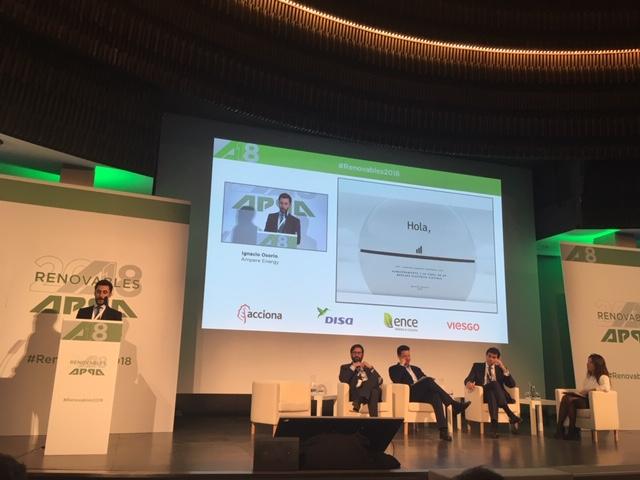Ampere Energy en el Congreso de Energías Renovables de APPA
