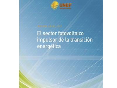 Informe anual de UNEF: el sector fotovoltaico, impulsor de la transición energética