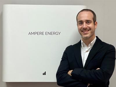 Ampere Energy impulsa su área de innovación y desarrollo tecnológico con la incorporación de Ignacio Guerrero como CTO