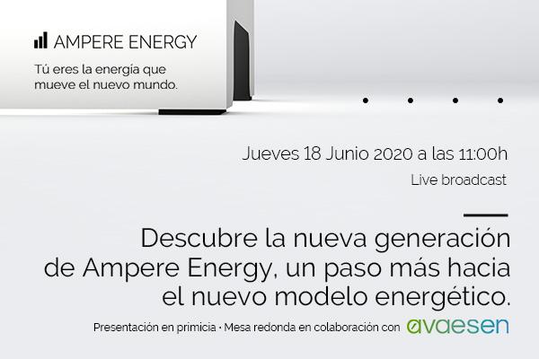 Descubre la nueva generación de Ampere Energy