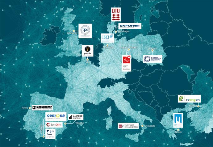 Ampere Energy aporta su experiencia en gestión energética y almacenamiento para edificios al proyecto europeo EBalancePlus