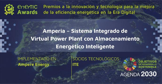 El proyecto Amperia, finalista de los enerTIC Awards 2020